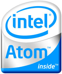 Intel Atom processor logo