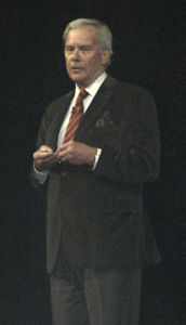 Former NBC News managing editor Tom Brokaw, speaking 2/27/08 before the Microsoft 'Heroes Happen Here' launch event.