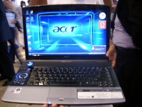The full masterpiece revealed:  Acer's Aspire 8920G