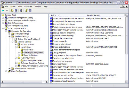 Microsoft Management Console 3.0, now featured in Windows XP Service Pack 3.