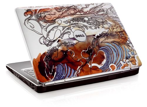 One example of a special edition Dell laptop featuring art by Mike Ming.