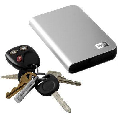 Western Digital's 320 GB portable Passport Studio HDD for Mac