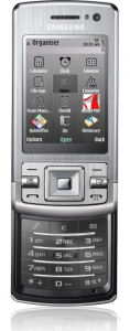 Samsung's L870 Symbian S60 phone