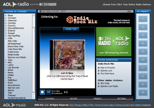 """""""album view"""" from Internet radio stations are NOT blocked in screengrabs"""