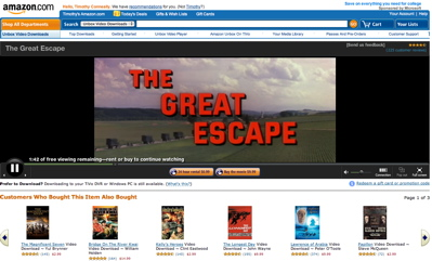 Amazon Video on Demand window (preview)