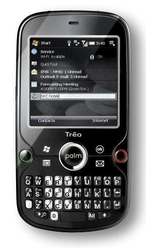 Palm's Treo Pro smartphone