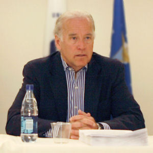 US Senator Joseph R. Biden (D - Del.), 2008 Democratic Party nominee for Vice President