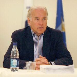US Senator Joseph R. Biden (D - Del.), 2008 Democratic Party nominee for Vice President