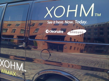Xohm truck in Baltimore (Photo: N. Mook)