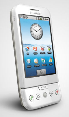 HTC's Dream, now known at the T-Mobile G1