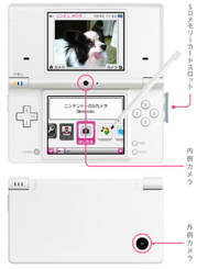 Nintendo DSi features