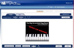 MySpace myAds creation tool