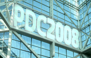 PDC 2008 story banner