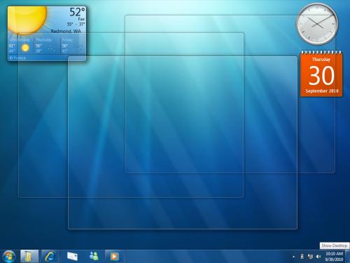 Windows 7 Show Desktop 1.211 full