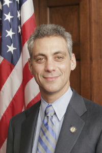 Congressman Rahm Emanuel (D - Ill.), soon to be Pres. Obama's chief of staff