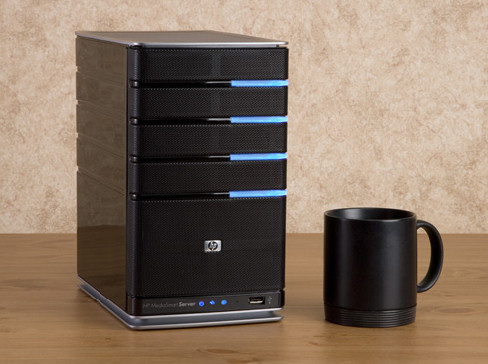 HP's MediaSmart ex485 with Windows Home Server