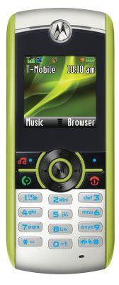 Motorola's W233 'Renew' green phone