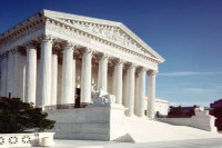 US Supreme Court building in Washington, DC