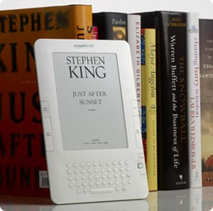 Kindle 2 with more King