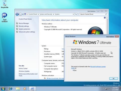 Windows 7 Build