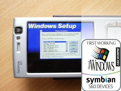 Windows 3.1 on a Nokia N95