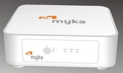 Myka BitTorrent set top box