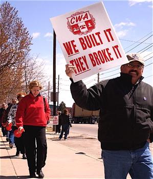 CWA AT&T strike