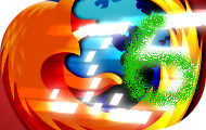 Firefox 3.6 'graffiti' top story badge