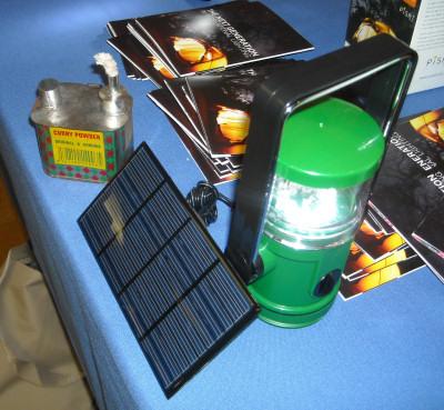 PiSAT's solar-powered 'green' lantern