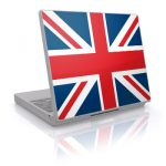 UK union jack laptop