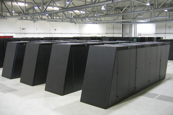 JUGENE, the IBM BlueGene/P supercomputer unveiled by the Julich Supercomputing Center in Germany.