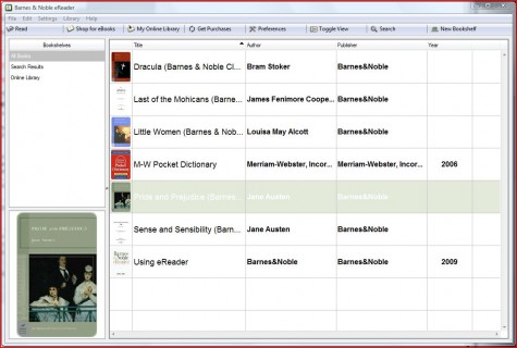 barnes and noble ebook reader