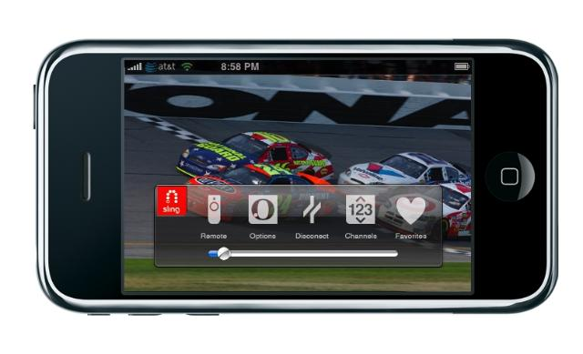 Slingplayer mobile iPhone