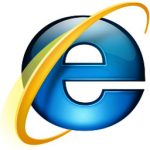 Microsoft Internet Explorer (IE7, IE8) logo