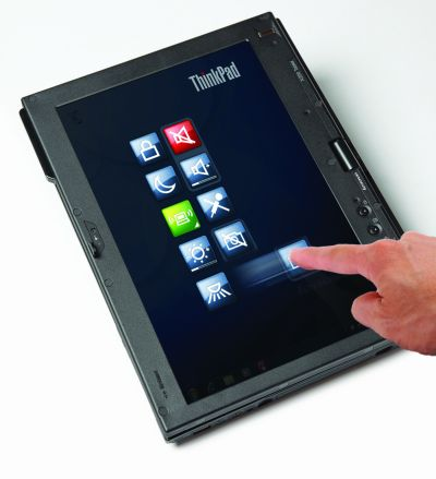 Lenovo's Windows 7-based multitouch ThinkPad tablet