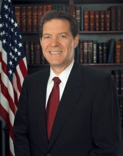 Sen. Sam Brownback (R - Kansas)