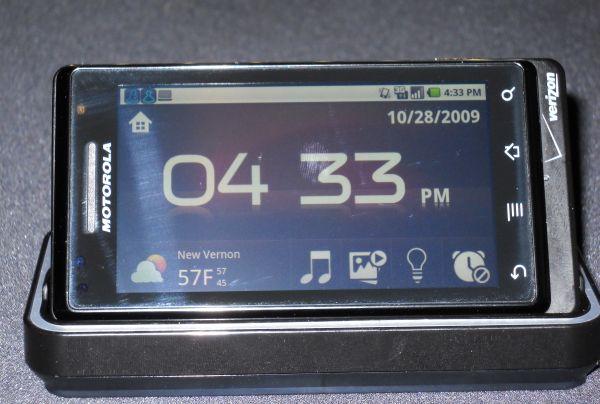 Motorola's Droid from Verizon Wireless