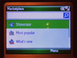 Windows Marketplace for Mobile...on Windows Mobile 6.0