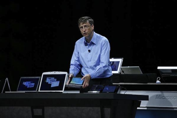 Bill Gates and UMPC