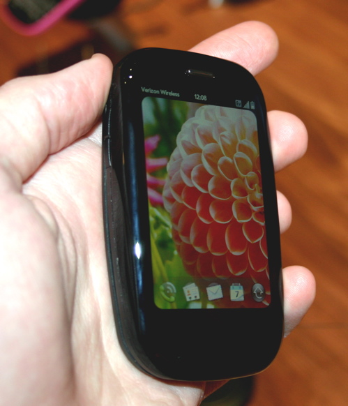 Palm Pre Plus (note lack of trackball)