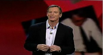 Qualcomm CEO Dr. Paul Jacobs at his first CES keynote speech.