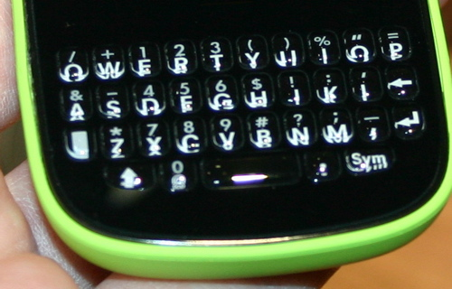 Palm Pixi Plus Keyboard