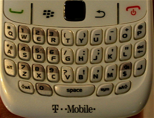 BlackBerry Curve Keyboard