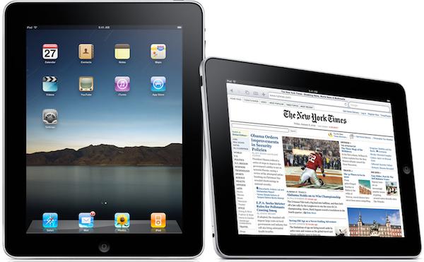 iPad NYT