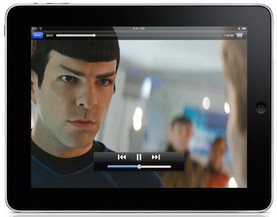 iPad Star Trek