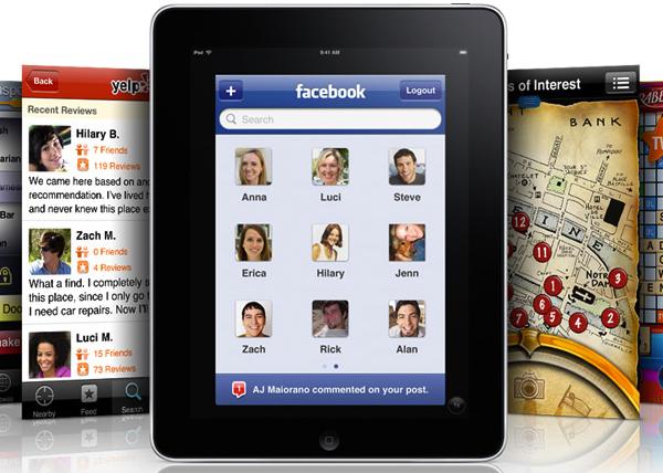 iPad Facebook