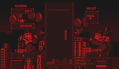 Nintendo Virtual Boy V-Tris