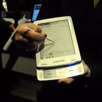 The Samsung eReader, marketed in partnership with Barnes & Noble.