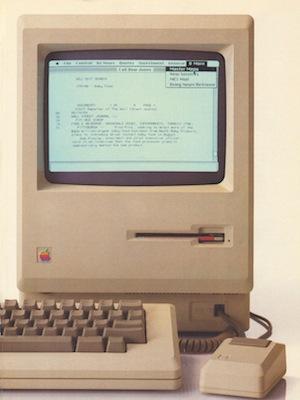 Steve Jobs at the Original Macintosh Introduction (1984)