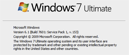 Windows 7 SP1 beta leak